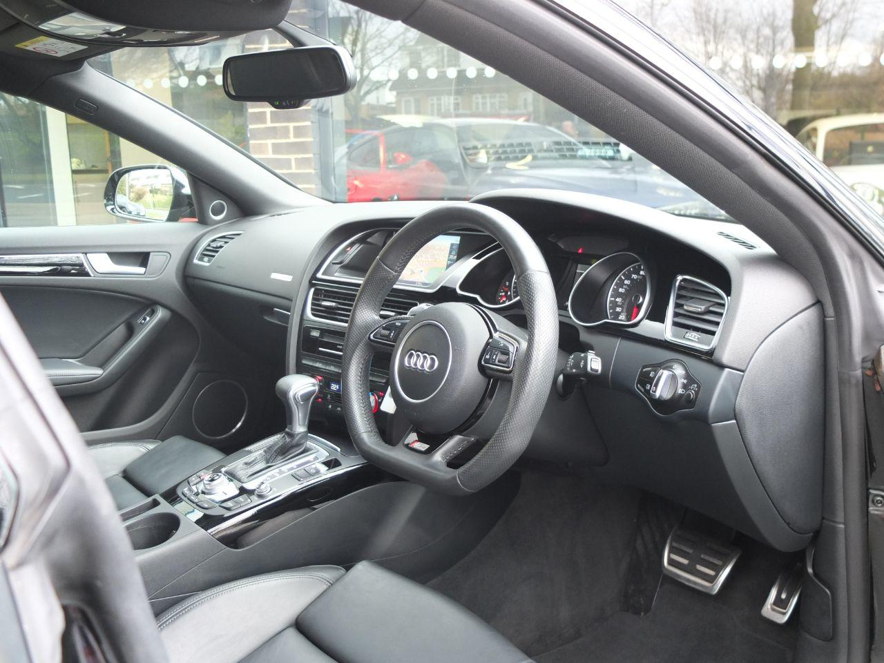 Audi A5 Sportback 2.0 TDI quattro Black Edition Plus S tronic Hatchback Diesel Mythos Black Metallic