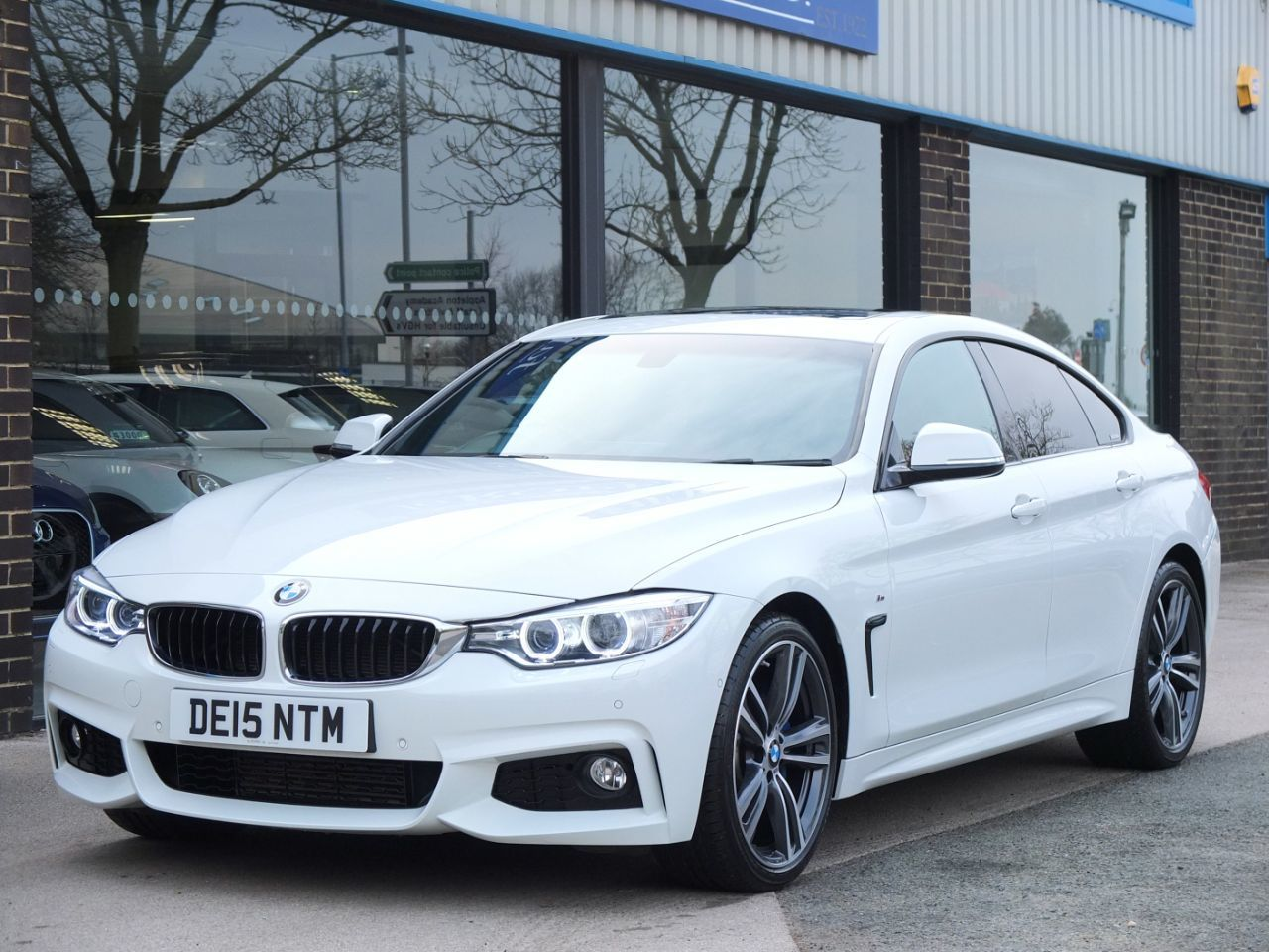 BMW 4 Series 2.0 420i Gran Coupe M Sport Plus Auto Coupe Petrol Alpine WhiteBMW 4 Series 2.0 420i Gran Coupe M Sport Plus Auto Coupe Petrol Alpine White at fa Roper Ltd Bradford