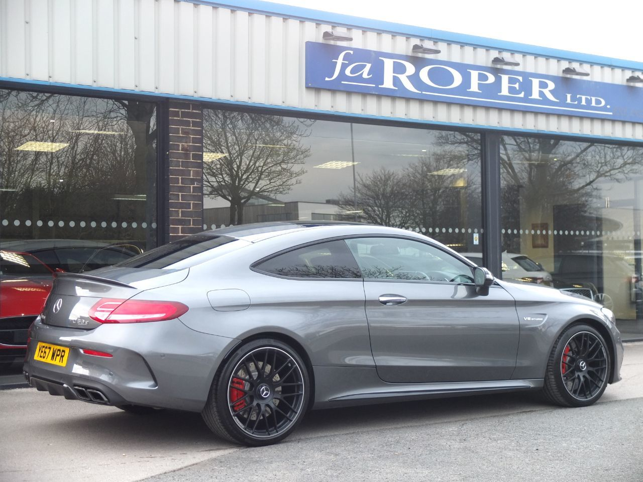 Mercedes-Benz C Class 4.0 C63 S Coupe Premium Auto 510ps Coupe Petrol Selenite Grey Metallic