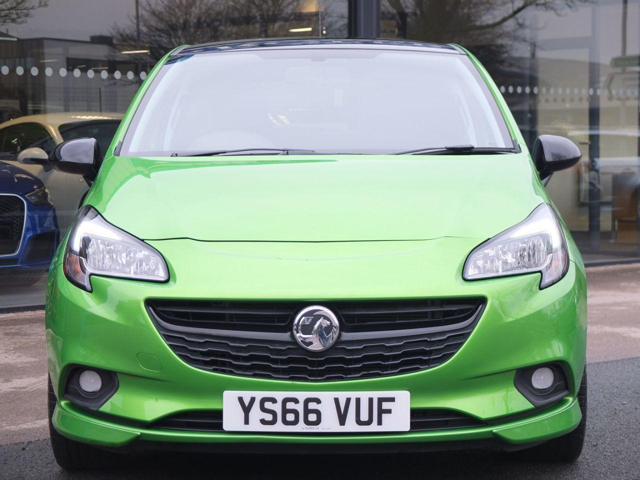 Vauxhall Corsa 1.4 [75] ecoFLEX Limited Edition 3 door Hatchback Petrol Lime Green Pearlescent