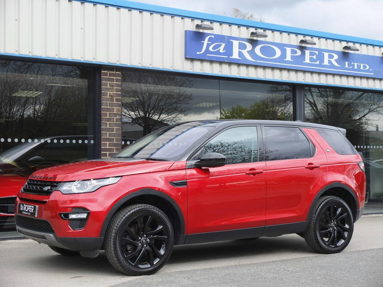 Land Rover Discovery Sport 2.0 TD4 180 HSE Black Auto Estate Diesel Firenze Red