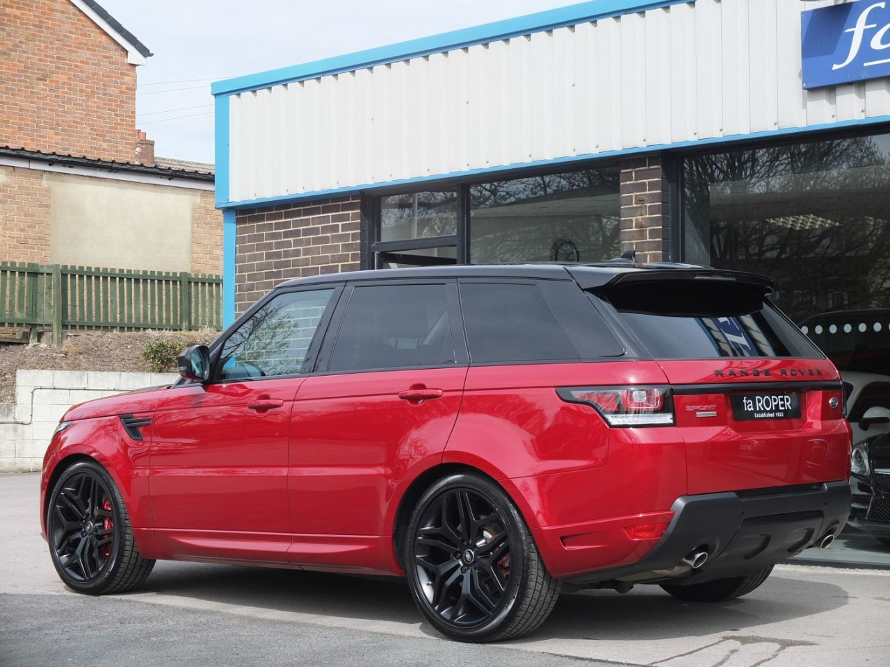 Land Rover Range Rover Sport 3.0 SDV6 [306] Autobiography Dynamic Auto Estate Diesel Firenze Red Metallic