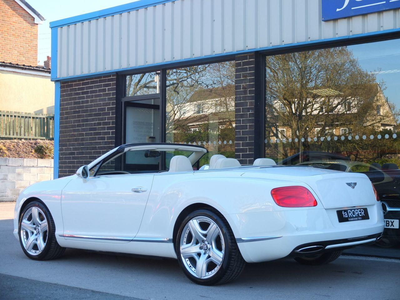 Bentley Continental GTC 6.0 W12 Facelift Convertible Petrol Glacier White