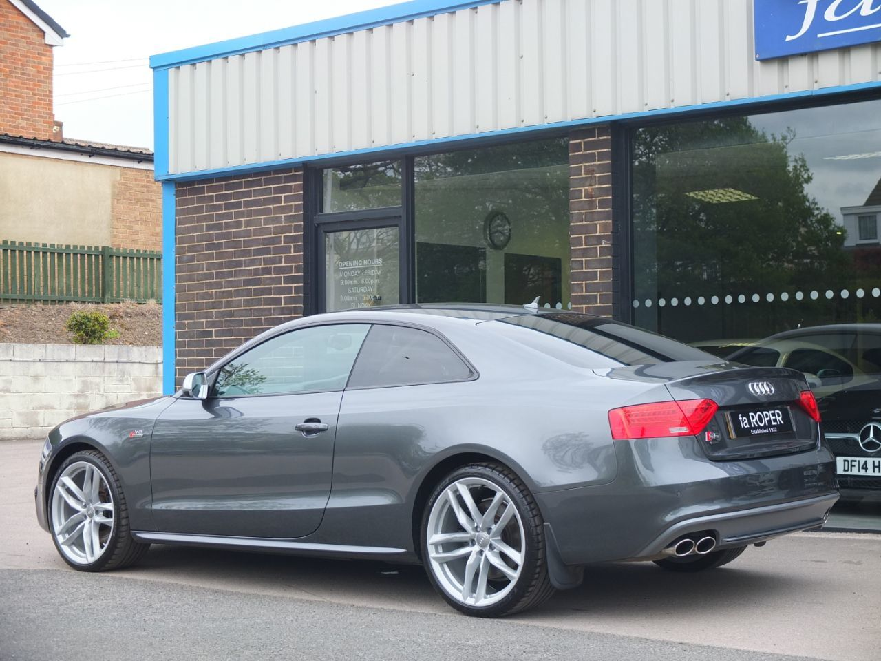 Audi A5 3.0 S5 quattro Black Edition Coupe S tronic Coupe Petrol Daytona Grey Metallic