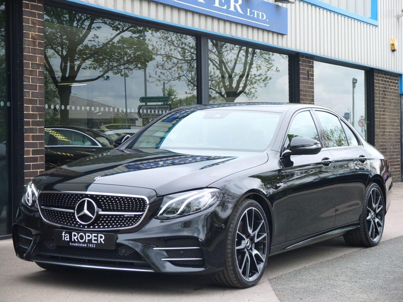 Mercedes-Benz E Class 3.0 E43 AMG 4MATIC 9G-tronic 401 hp Saloon Petrol Obsidian Black MetallicMercedes-Benz E Class 3.0 E43 AMG 4MATIC 9G-tronic 401 hp Saloon Petrol Obsidian Black Metallic at fa Roper Ltd Bradford