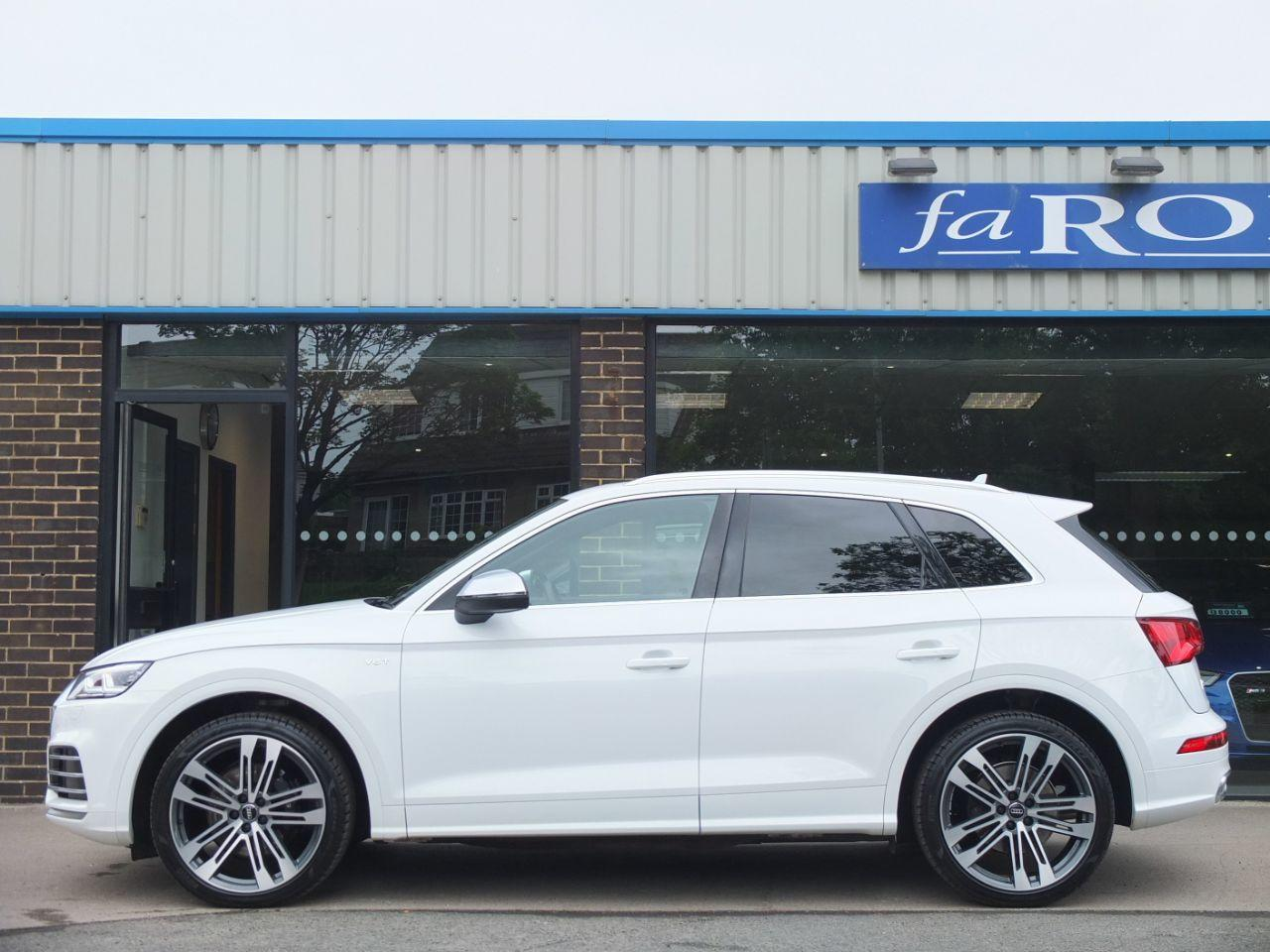 Audi Q5 SQ5 3.0 TFSI V6 quattro Auto 354ps Estate Petrol Ibis White