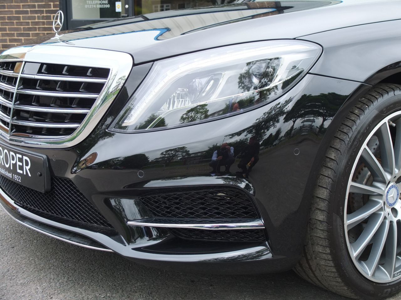 Mercedes-Benz S Class 3.0 S350d AMG Line G-Tronic (SWB) Saloon Diesel Obsidian Black Metallic