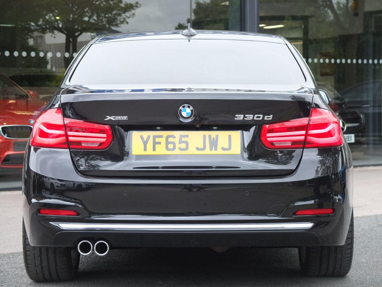 BMW 3 Series 3.0 330d xDrive Luxury Auto Saloon Diesel Black Sapphire Metallic
