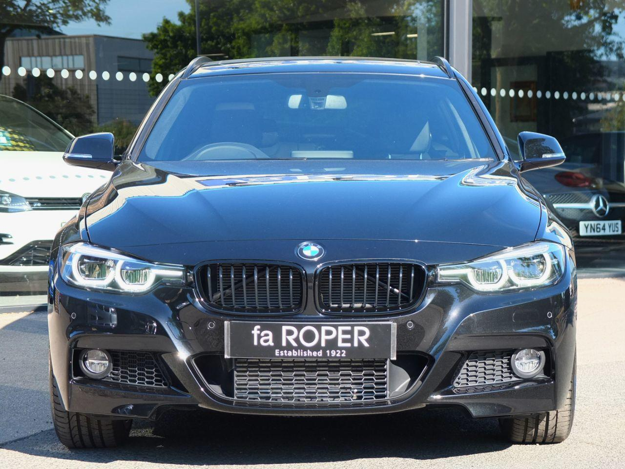 BMW 3 Series 3.0 335d xDrive M Sport Shadow Edition Touring Auto Estate Diesel Black Sapphire Metallic