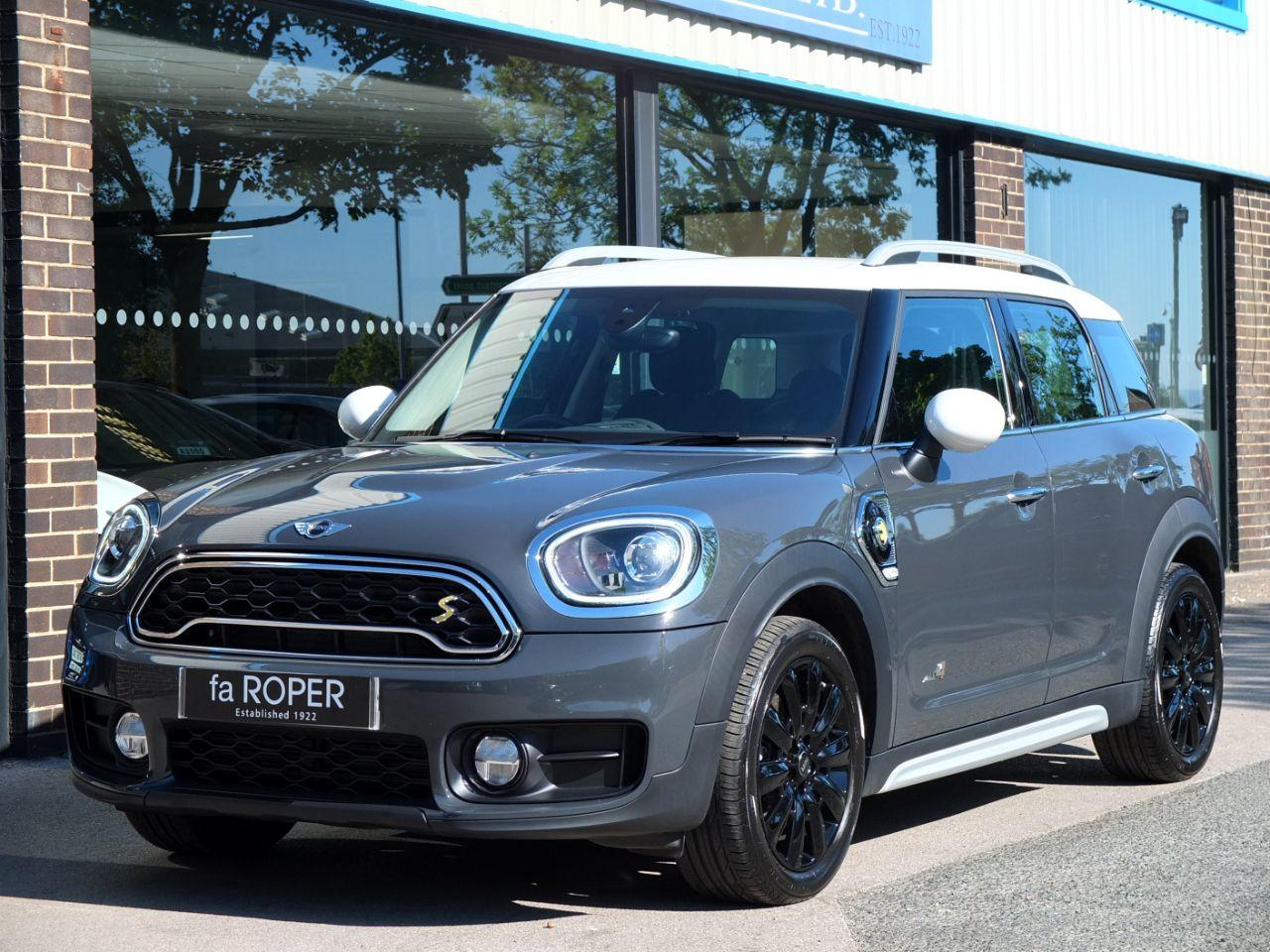 Mini Countryman 1.5 Cooper S E ALL4 PHEV Auto (Chili Pack) Hatchback Petrol / Electric Hybrid Thunder Grey MetallicMini Countryman 1.5 Cooper S E ALL4 PHEV Auto (Chili Pack) Hatchback Petrol / Electric Hybrid Thunder Grey Metallic at fa Roper Ltd Bradford