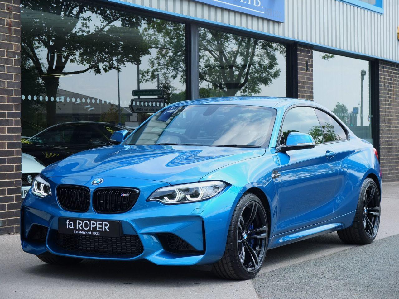BMW M2 3.0 DCT Coupe Petrol Long Beach Blue MetallicBMW M2 3.0 DCT Coupe Petrol Long Beach Blue Metallic at fa Roper Ltd Bradford