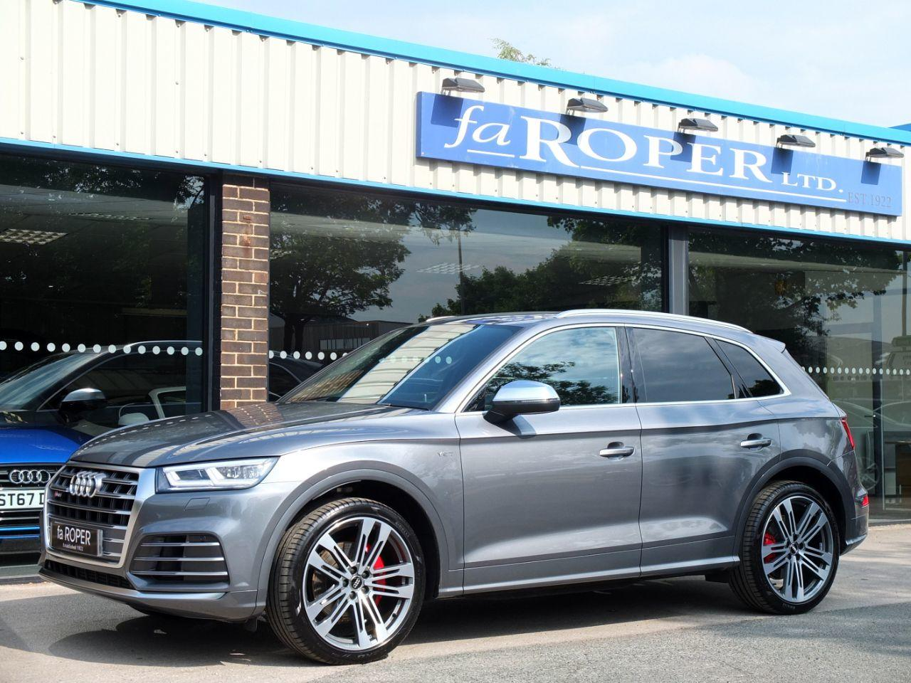 Audi Q5 SQ5 3.0 TFSI V6 quattro Auto 354ps Estate Petrol Monsoon Grey Metallic