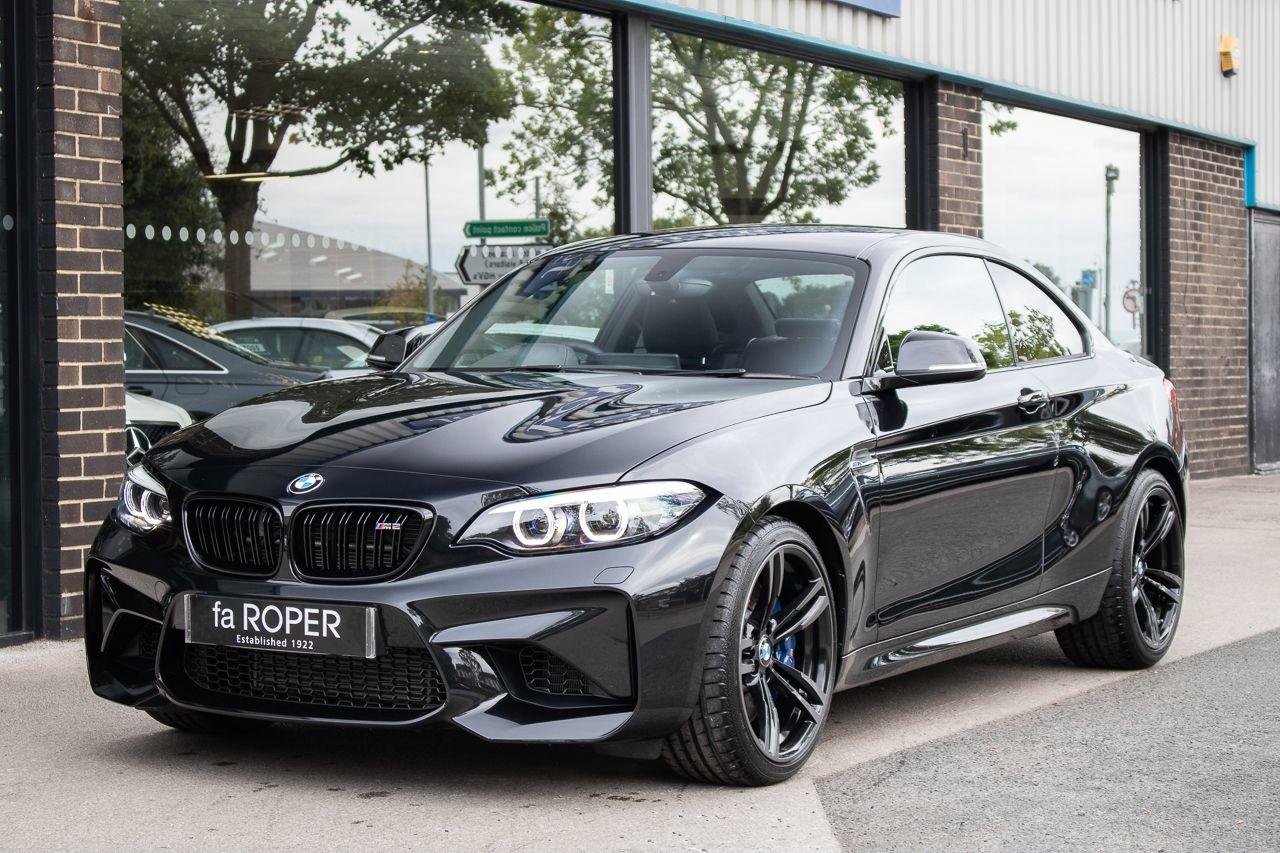 BMW M2 M2 3.0 DCT (LCI Facelift) Coupe Petrol Black Sapphire MetallicBMW M2 M2 3.0 DCT (LCI Facelift) Coupe Petrol Black Sapphire Metallic at fa Roper Ltd Bradford