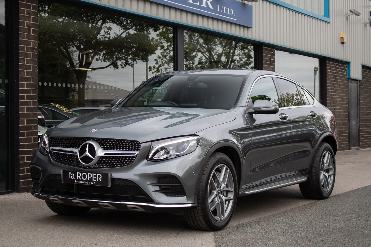 Mercedes-Benz GLC Coupe 2.1 GLC 220d 4Matic AMG Line Premium 9G-Tronic Auto Coupe Diesel Selenite Grey MetallicMercedes-Benz GLC Coupe 2.1 GLC 220d 4Matic AMG Line Premium 9G-Tronic Auto Coupe Diesel Selenite Grey Metallic at fa Roper Ltd Bradford