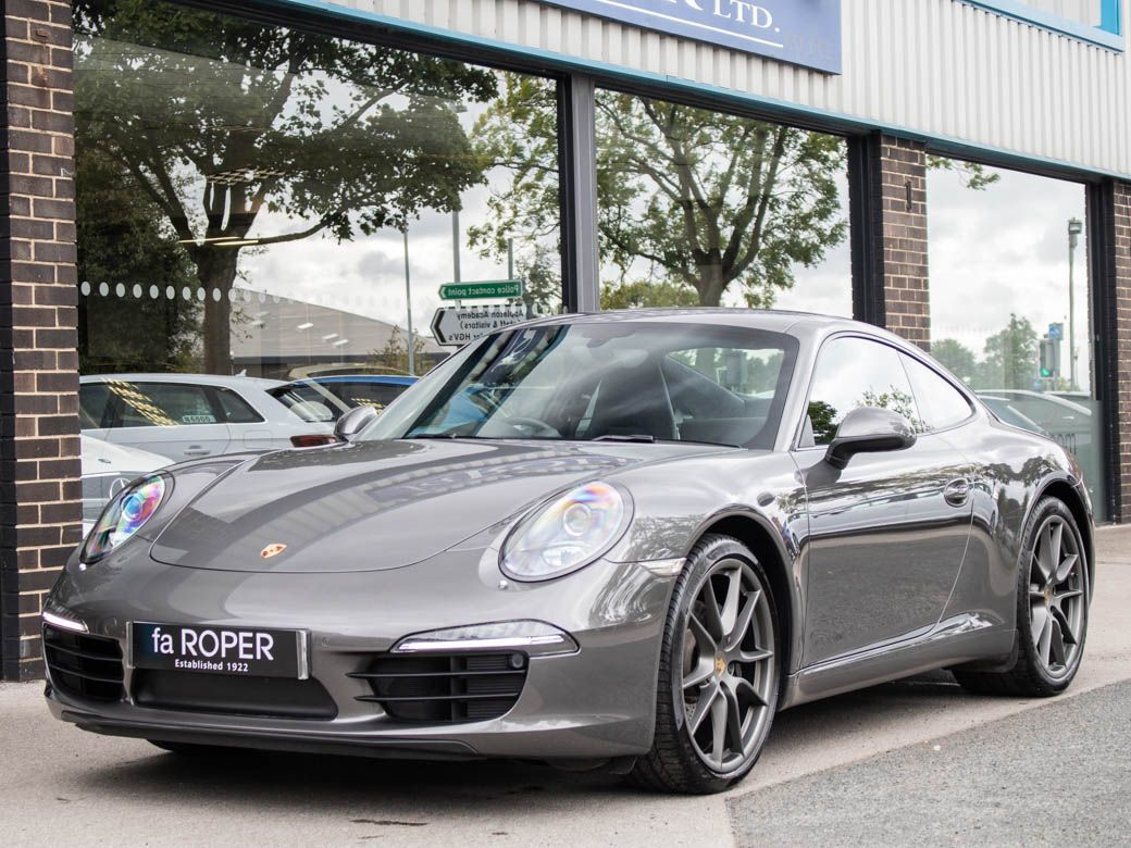 Porsche 911 3.4 991 Carrera Coupe PDK Coupe Petrol Agate Grey MetallicPorsche 911 3.4 991 Carrera Coupe PDK Coupe Petrol Agate Grey Metallic at fa Roper Ltd Bradford