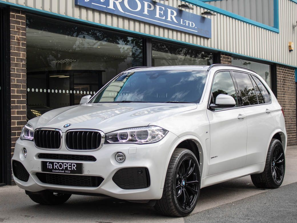 BMW X5 3.0 xDrive30d M Sport 5dr Auto (7 Seats) Estate Diesel Mineral White MetallicBMW X5 3.0 xDrive30d M Sport 5dr Auto (7 Seats) Estate Diesel Mineral White Metallic at fa Roper Ltd Bradford