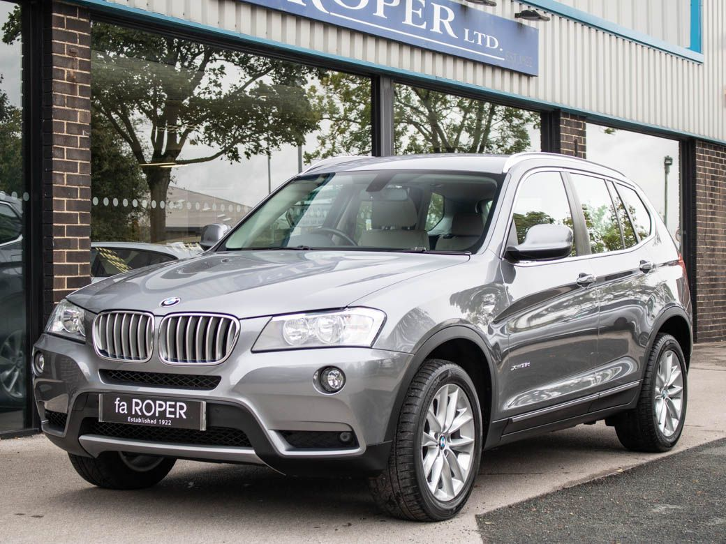 BMW X3 3.0 xDrive35d SE Auto Pro Media Estate Diesel Space Grey MetallicBMW X3 3.0 xDrive35d SE Auto Pro Media Estate Diesel Space Grey Metallic at fa Roper Ltd Bradford