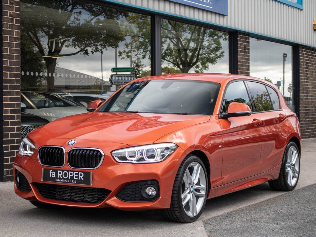 BMW 1 Series 2.0 120d M Sport 5 door Auto Hatchback Diesel Valencia Orange MetallicBMW 1 Series 2.0 120d M Sport 5 door Auto Hatchback Diesel Valencia Orange Metallic at fa Roper Ltd Bradford