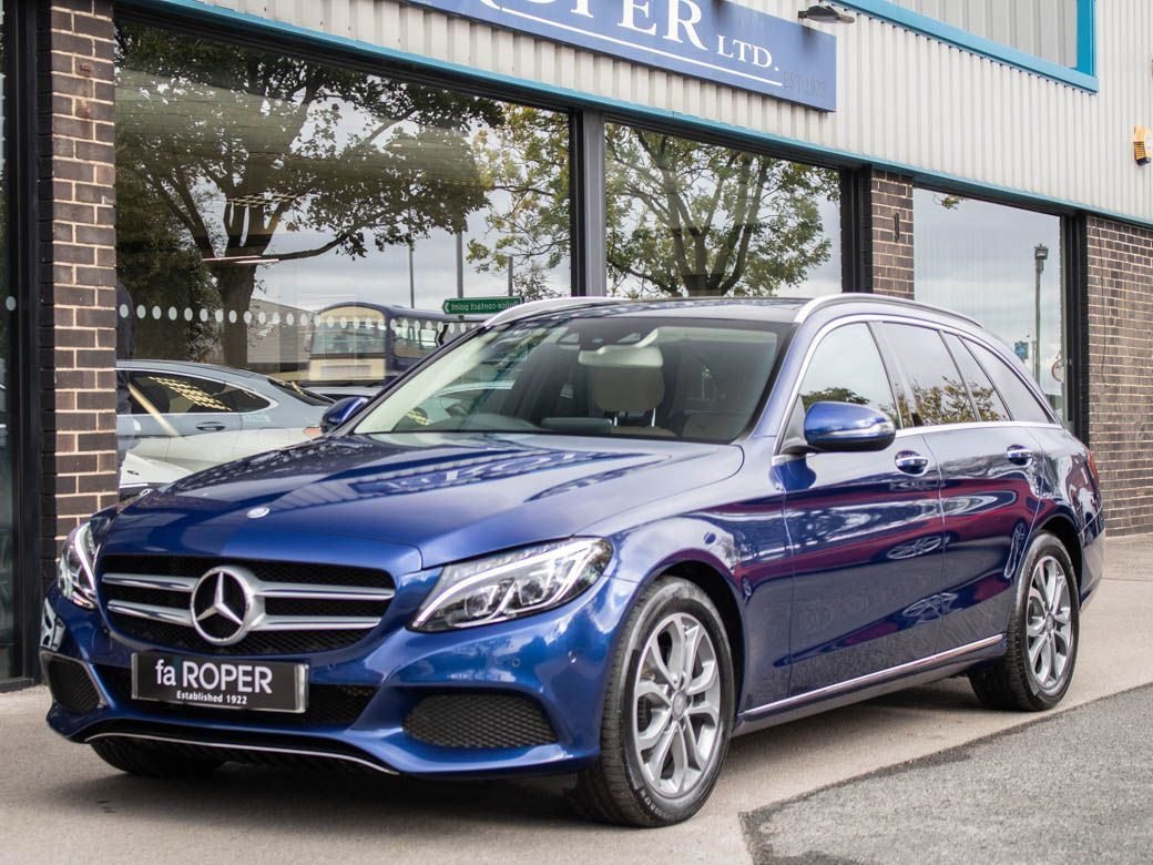 Mercedes-Benz C Class 2.0 C200 Sport Estate Premium Plus Auto Estate Petrol Brilliant Blue MetallicMercedes-Benz C Class 2.0 C200 Sport Estate Premium Plus Auto Estate Petrol Brilliant Blue Metallic at fa Roper Ltd Bradford