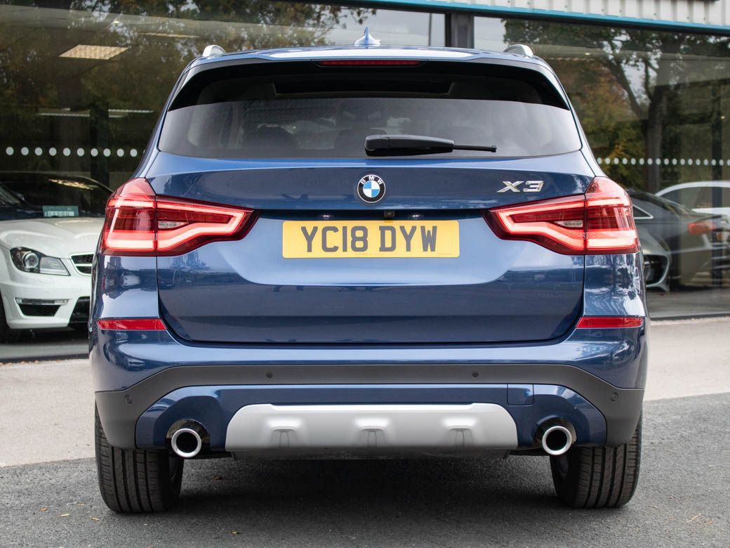 BMW X3 2.0 xDrive20i xLine Auto Estate Petrol Phytonic Blue Metallic