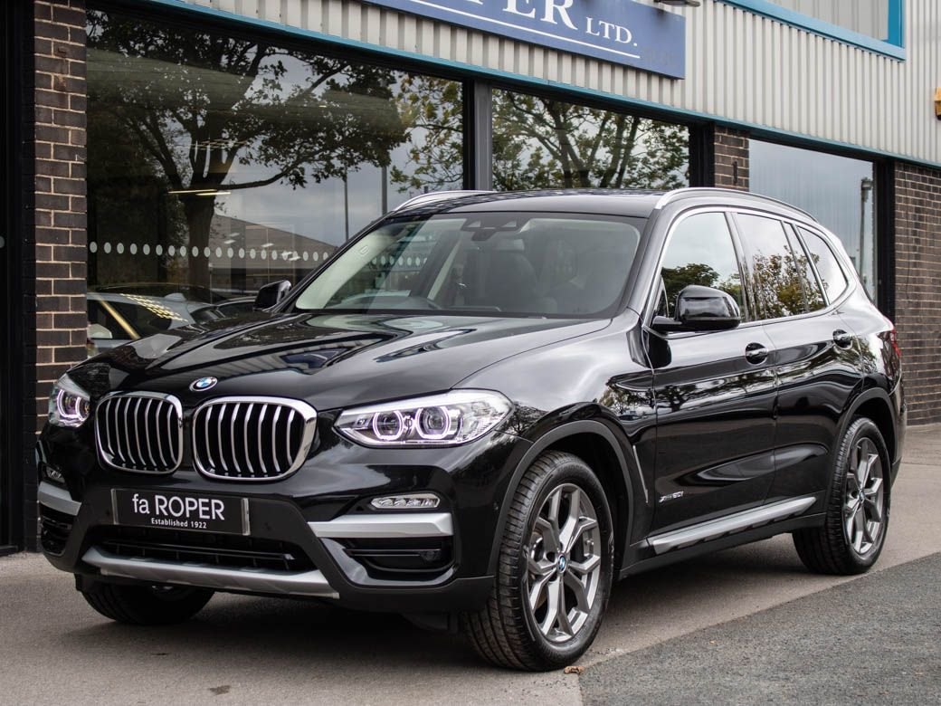 BMW X3 2.0 xDrive20i xLine Auto Estate Petrol Black Sapphire MetallicBMW X3 2.0 xDrive20i xLine Auto Estate Petrol Black Sapphire Metallic at fa Roper Ltd Bradford