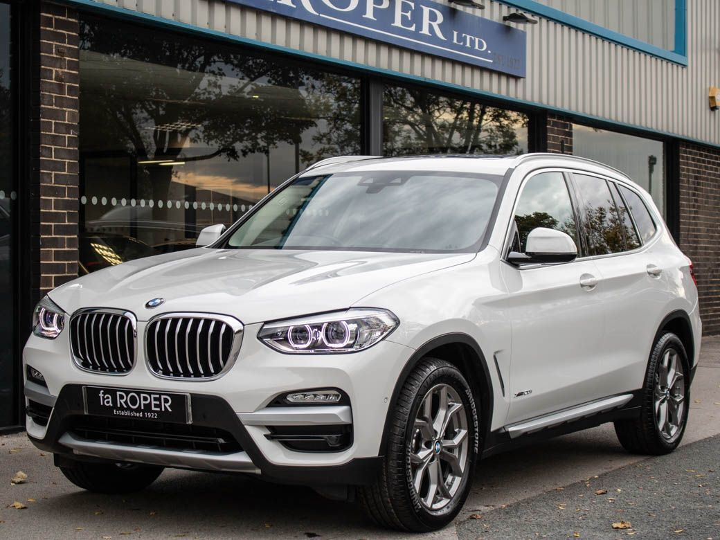 BMW X3 2.0 xDrive20i xLine Auto Estate Petrol Alpine WhiteBMW X3 2.0 xDrive20i xLine Auto Estate Petrol Alpine White at fa Roper Ltd Bradford