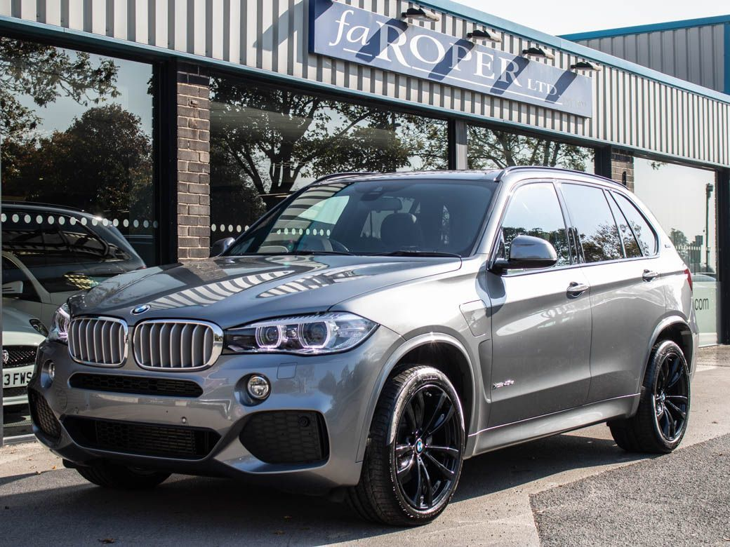 BMW X5 2.0 xDrive40e M Sport Auto (Panoramic Roof) Estate Petrol / Electric Hybrid Space Grey Metallic