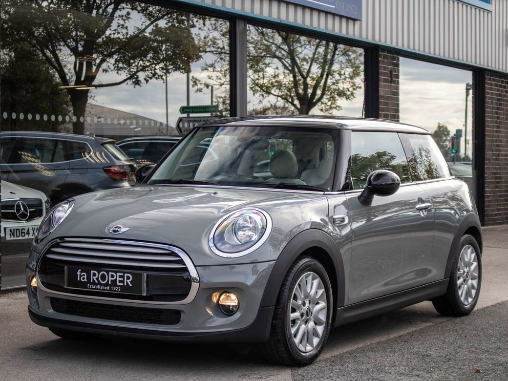 Mini Hatchback 1.5 Cooper Chili Pack Hatchback Petrol Moonwalk Grey MetallicMini Hatchback 1.5 Cooper Chili Pack Hatchback Petrol Moonwalk Grey Metallic at fa Roper Ltd Bradford