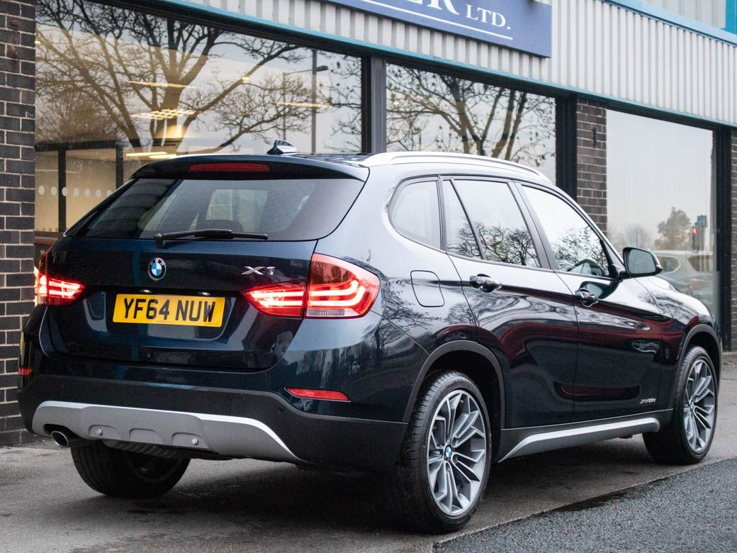 BMW X1 2.0 xDrive 25d xLine Auto Estate Diesel Midnight Blue Metallic