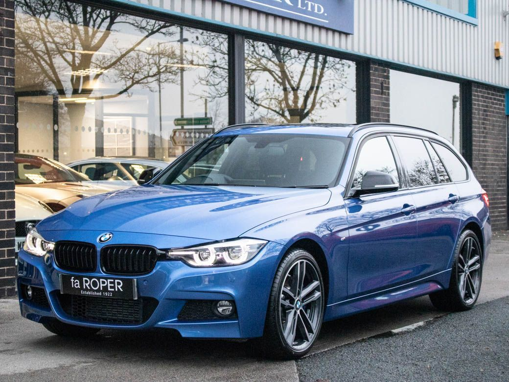 BMW 3 Series 3.0 335d xDrive M Sport Shadow Edition Touring Auto Estate Diesel Estoril Blue MetallicBMW 3 Series 3.0 335d xDrive M Sport Shadow Edition Touring Auto Estate Diesel Estoril Blue Metallic at fa Roper Ltd Bradford