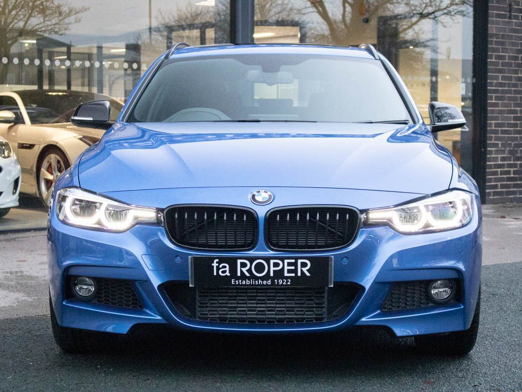 BMW 3 Series 3.0 335d xDrive M Sport Shadow Edition Touring Auto Estate Diesel Estoril Blue Metallic