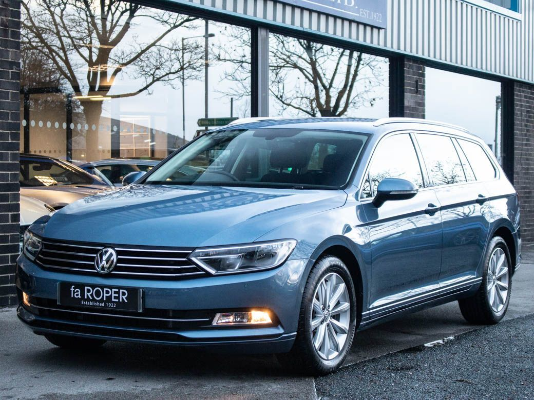 Volkswagen Passat 2.0 TDI SE Business Estate Estate Diesel Havard Blue MetallicVolkswagen Passat 2.0 TDI SE Business Estate Estate Diesel Havard Blue Metallic at fa Roper Ltd Bradford