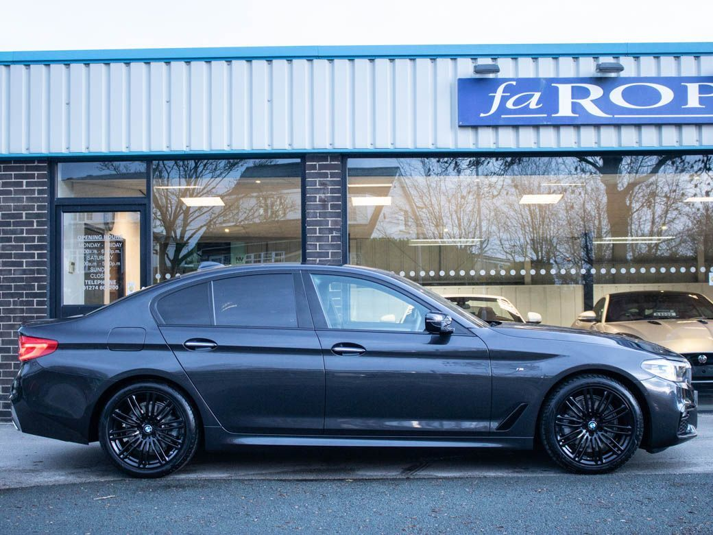 BMW 5 Series 2.0 520d xDrive M Sport Plus Pack Auto Saloon Diesel Sophisto Grey