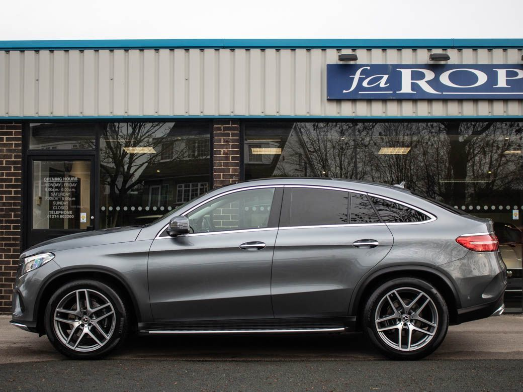 Mercedes-Benz GLE Coupe 3.0 GLE Coupe 350d 4Matic AMG Line Premium Plus 9G-Tronic Coupe Diesel Selenite Grey Metallic