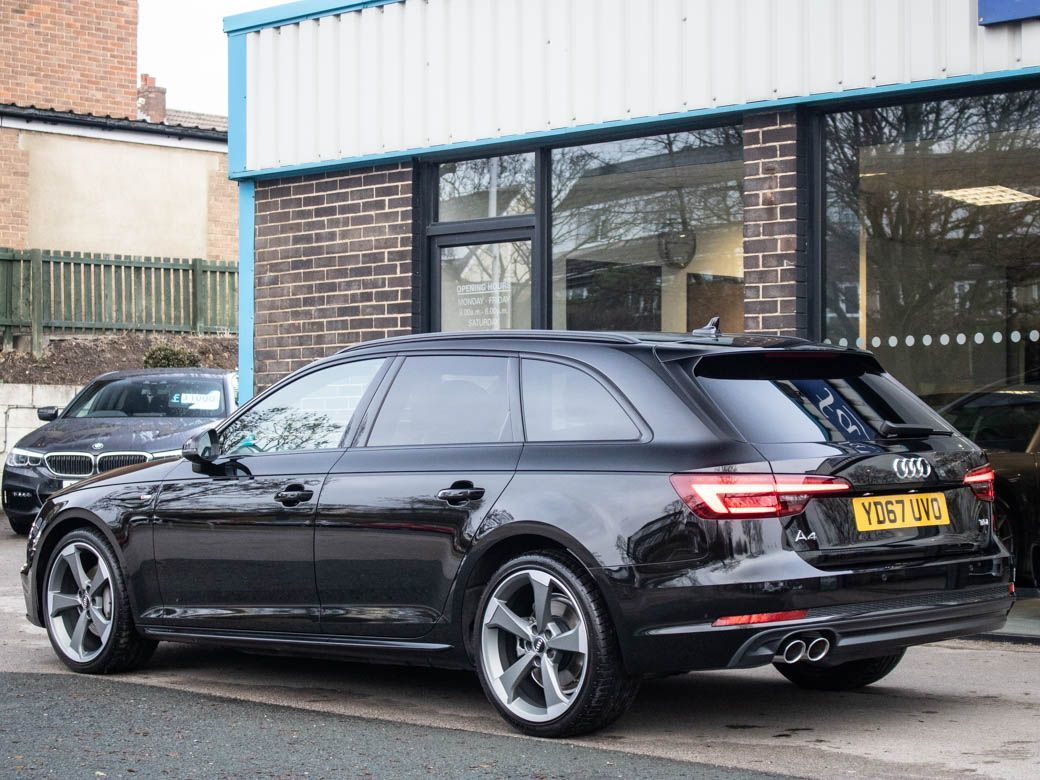 Audi A4 Avant 2.0 TDI Black Edition 190ps S tronic Estate Diesel Mythos Black Metallic