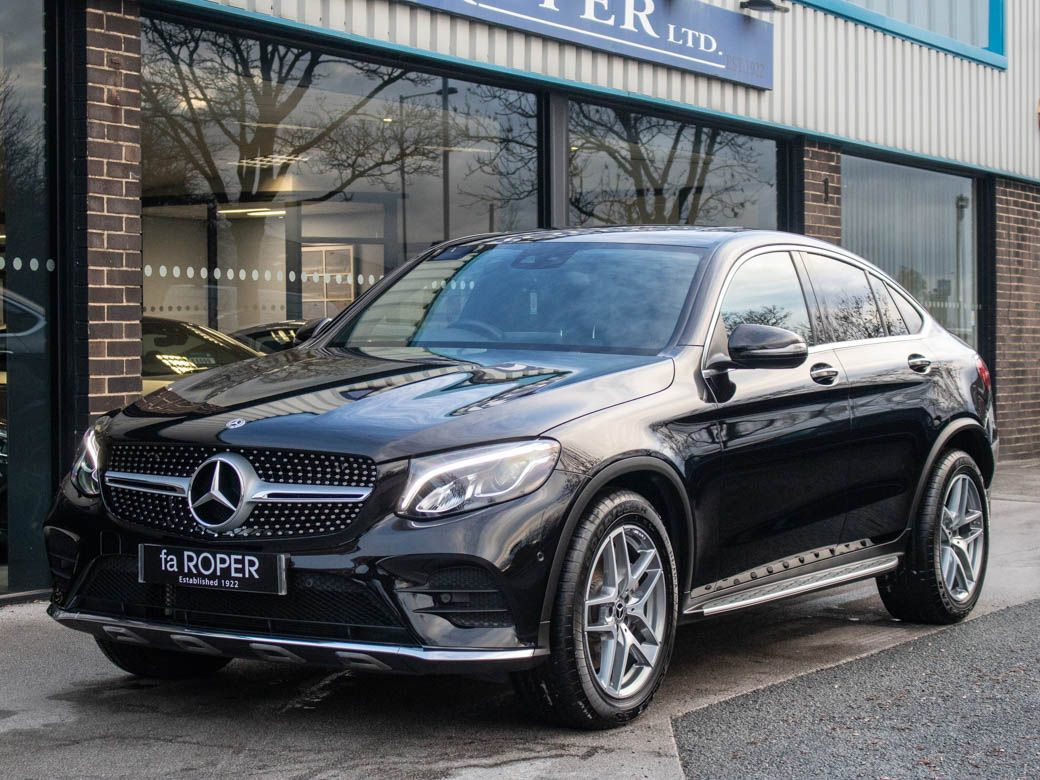 Mercedes-Benz GLC Coupe 3.0 GLC 350d 4Matic AMG Line Premium Plus 9G-Tronic Coupe Diesel Obsidian Black MetallicMercedes-Benz GLC Coupe 3.0 GLC 350d 4Matic AMG Line Premium Plus 9G-Tronic Coupe Diesel Obsidian Black Metallic at fa Roper Ltd Bradford
