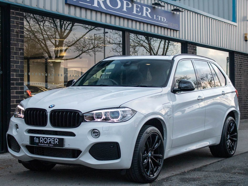 BMW X5 2.0 xDrive40e M Sport PHEV Auto Estate Petrol / Electric Hybrid Alpine White