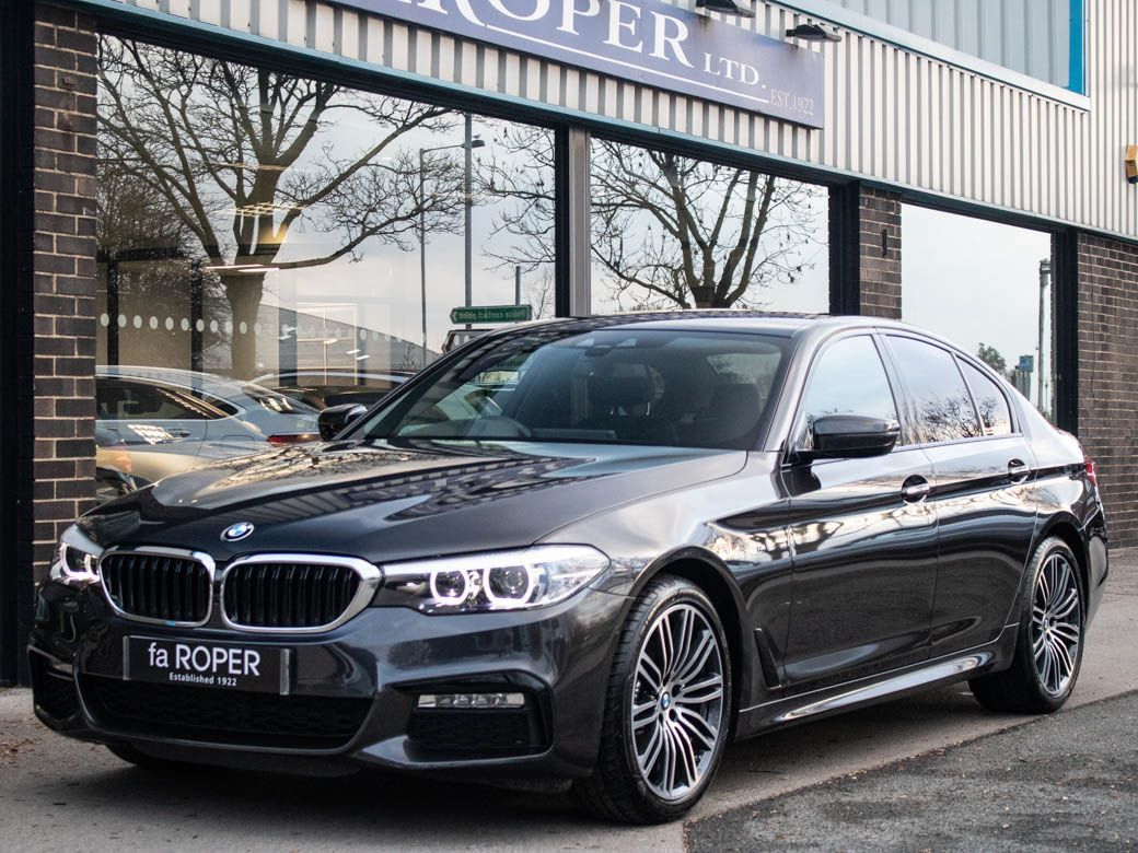 BMW 5 Series 2.0 520d xDrive M Sport Plus Pack Auto Saloon Diesel Sophisto Grey MetallicBMW 5 Series 2.0 520d xDrive M Sport Plus Pack Auto Saloon Diesel Sophisto Grey Metallic at fa Roper Ltd Bradford