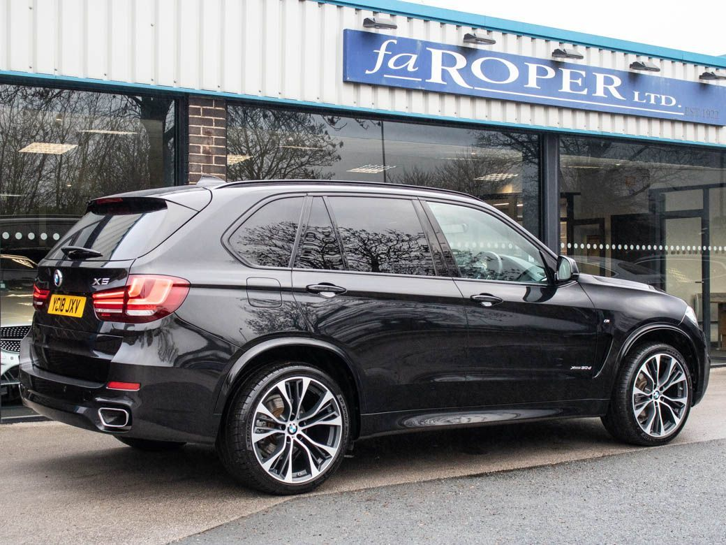 BMW X5 3.0 xDrive30d M Sport Plus Package Auto [7 Seat] Estate Diesel Black Sapphire Metallic
