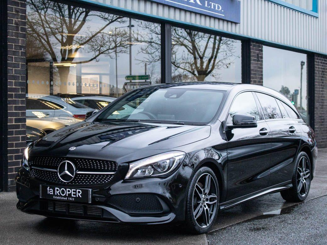 Mercedes-Benz Cla Class 2.1 CLA Shooting Brake 220d AMG Line 4MATIC Auto Estate Diesel Cosmos Black MetallicMercedes-Benz Cla Class 2.1 CLA Shooting Brake 220d AMG Line 4MATIC Auto Estate Diesel Cosmos Black Metallic at fa Roper Ltd Bradford