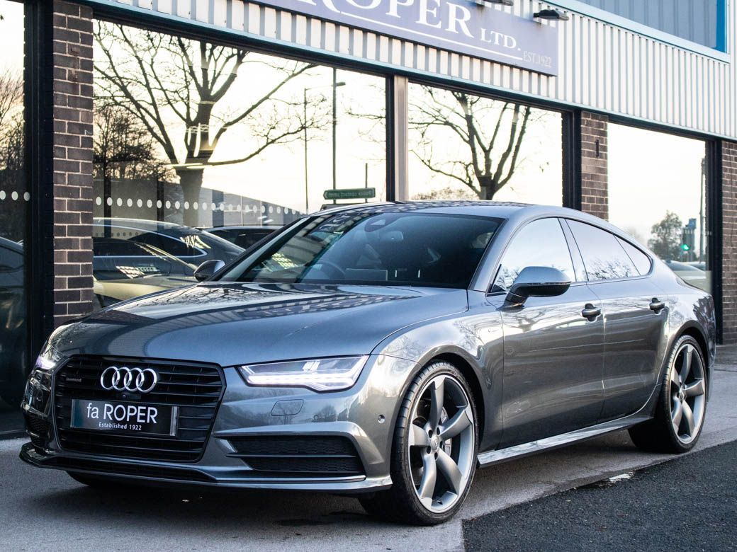 Audi A7 3.0 BiTDI quattro Black Edition Tiptronic Auto 320ps Hatchback Diesel Daytona Grey MetallicAudi A7 3.0 BiTDI quattro Black Edition Tiptronic Auto 320ps Hatchback Diesel Daytona Grey Metallic at fa Roper Ltd Bradford