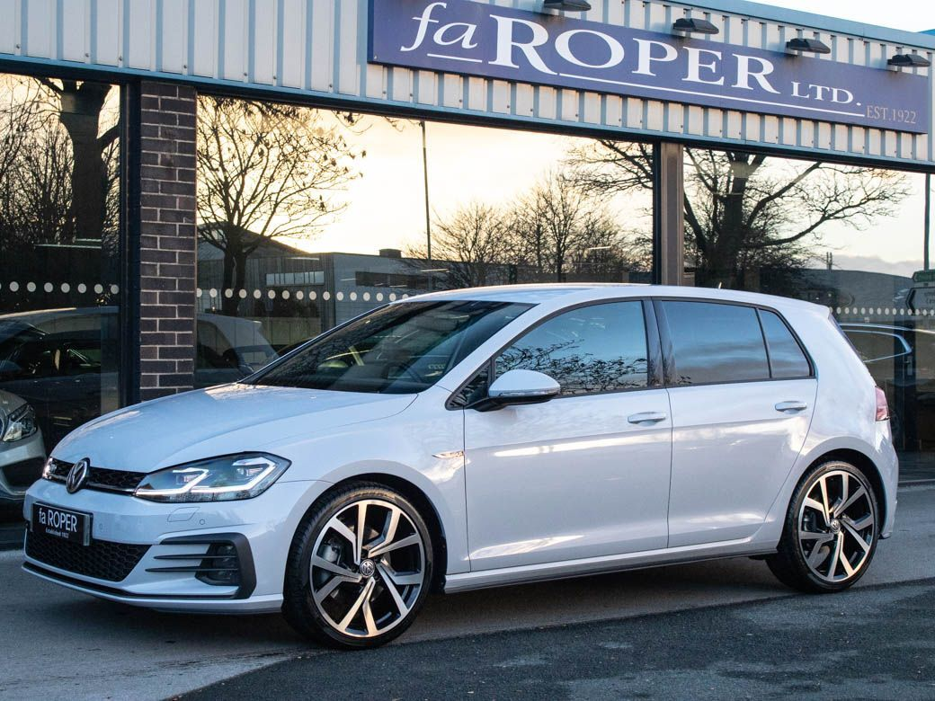 Volkswagen Golf 2.0 TDI GTD 5 door DSG 184ps Hatchback Diesel White Silver Metallic
