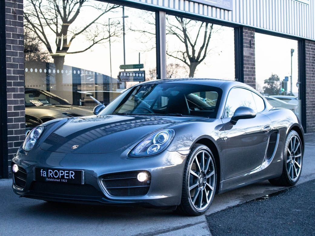 Porsche Cayman 2.7 PDK Coupe Petrol Agate Grey MetallicPorsche Cayman 2.7 PDK Coupe Petrol Agate Grey Metallic at fa Roper Ltd Bradford