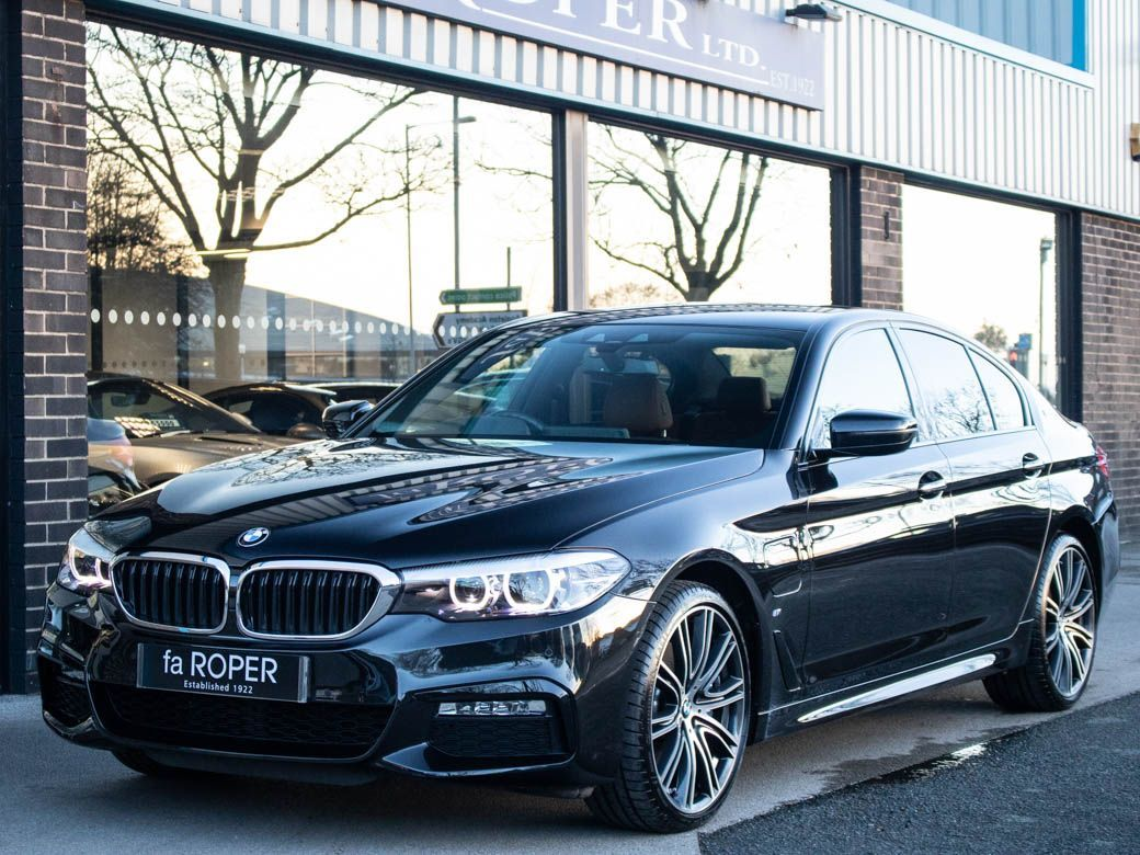 BMW 5 Series 2.0 530e M Sport Plus Auto PHEV Saloon Petrol / Electric Hybrid Black Sapphire MetallicBMW 5 Series 2.0 530e M Sport Plus Auto PHEV Saloon Petrol / Electric Hybrid Black Sapphire Metallic at fa Roper Ltd Bradford