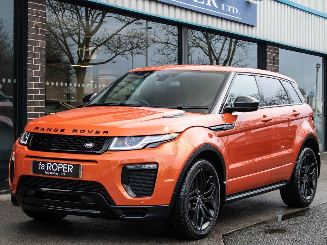 Land Rover Range Rover Evoque 2.0 TD4 HSE Dynamic 5 door Auto Estate Diesel Phoenix Orange MetallicLand Rover Range Rover Evoque 2.0 TD4 HSE Dynamic 5 door Auto Estate Diesel Phoenix Orange Metallic at fa Roper Ltd Bradford