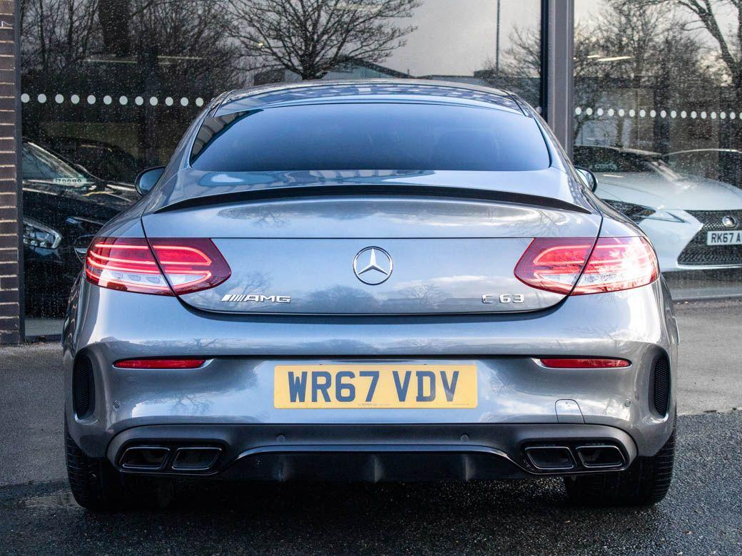 Mercedes-Benz C Class C63 AMG 4.0 Coupe Premium Auto Coupe Petrol Selenite Grey Metallic