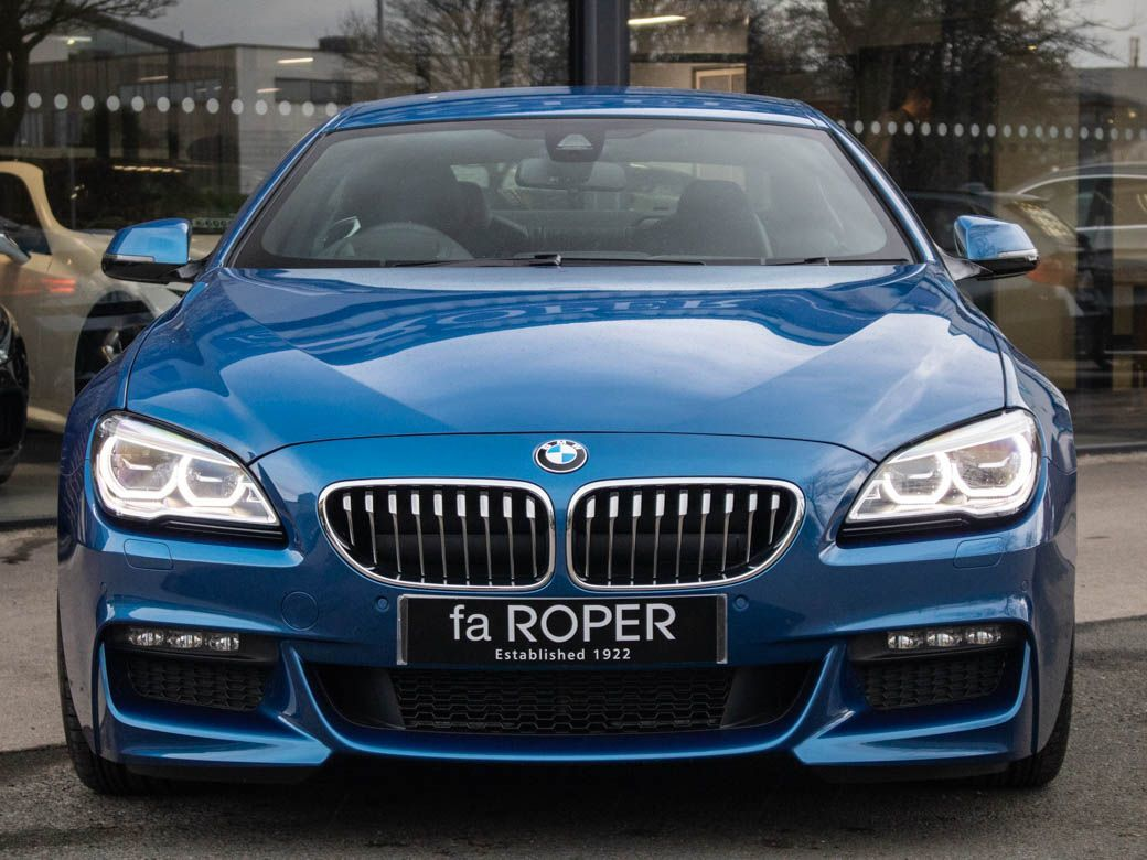 BMW 6 Series 3.0 640d Gran Coupe M Sport Plus Auto Coupe Diesel Sonic Speed Blue Metallic