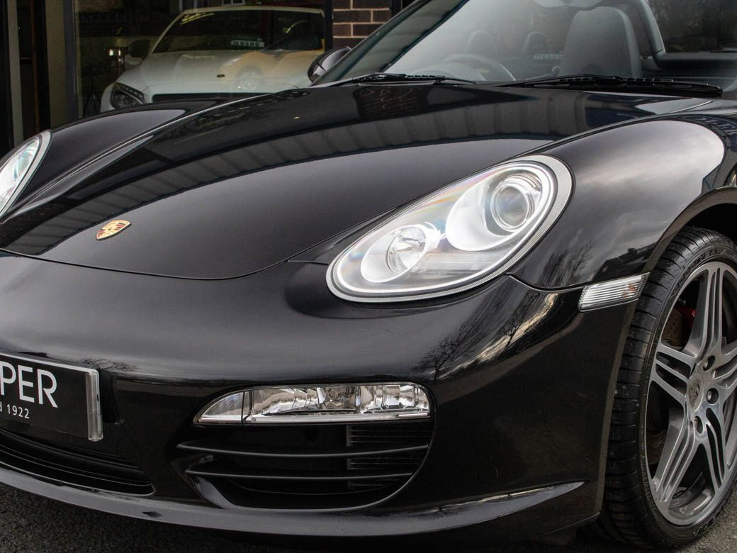 Porsche Boxster 3.4 S 6 Speed Manual Convertible Petrol Basalt Black Metallic