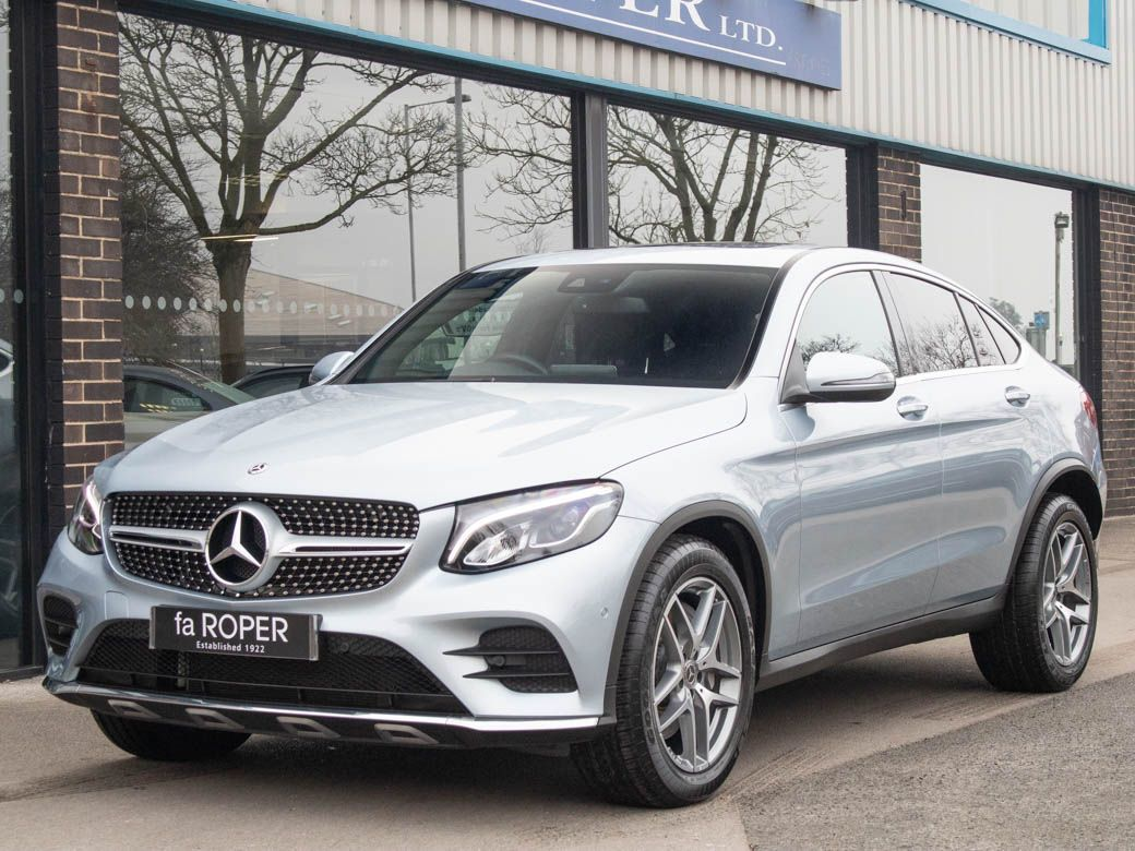 Mercedes-Benz GLC Coupe 3.0 GLC 350d 4Matic AMG Line Premium Plus 9G-Tronic Coupe Diesel Diamond Silver MetallicMercedes-Benz GLC Coupe 3.0 GLC 350d 4Matic AMG Line Premium Plus 9G-Tronic Coupe Diesel Diamond Silver Metallic at fa Roper Ltd Bradford