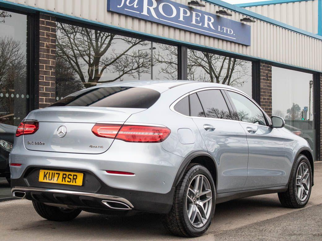 Mercedes-Benz GLC Coupe 3.0 GLC 350d 4Matic AMG Line Premium Plus 9G-Tronic Coupe Diesel Diamond Silver Metallic